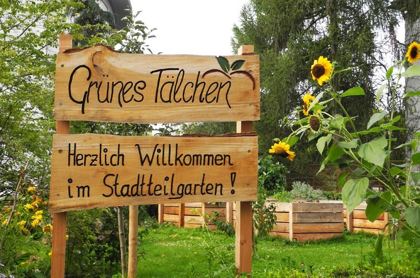 Der Stadtteilgarten Grünes Talken im Stadtteil Grübentälchen