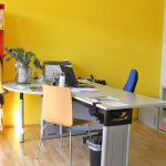 Das schöne und helle Büro des Stadtteilbüro Grübentälchen
