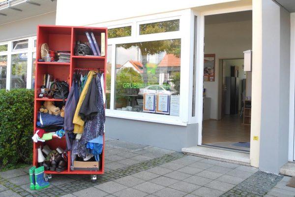 Außenansicht des Stadtteilbüro Grübentälchen in Kaiserslautern