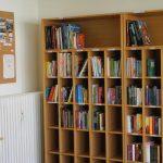 Büchertauschbox im Stadtteilbüro Grübentälchen in Kaiserslautern