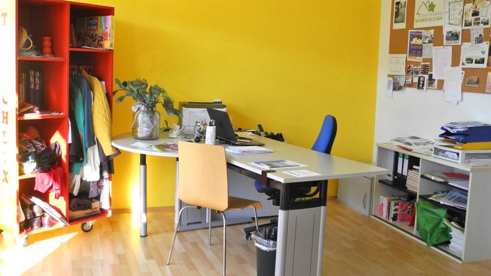 Das Stadtteilbüro Grübentälchen in Kaiserslautern und seine Räumlichkeiten