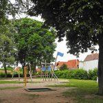 Kinderspielplatz im Stadtteil Grübentälchen in Kaiserslautern