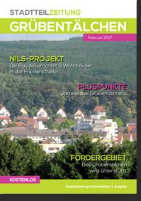 Erste Stadtteilzeitung vom Stadtteil Grübentälchen in Kaiserslautern