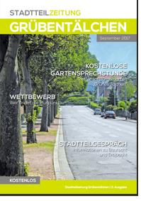 Dritte Stadtteilzeitung vom Stadtteil Grübentälchen in Kaiserslautern